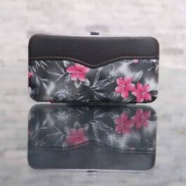 مجموعة مقص الأظافر – طقم بديكير للعناية الشخصية بالأظافر من الفولاذ المقاوم للصدأ مع حقيبة، مجموعة من 7 قطعة